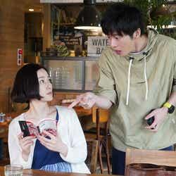 原田知世、田中圭/「あなたの番です」特別編より(C)日本テレビ