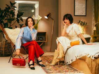 米倉涼子&ヨンアが主演「フェンディ」ショートムービーで華やかコーデ披露