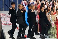 DA PUMP、ミス・インターナショナル世界大会で「U.S.A.」披露 会場の「いいねダンス」に感激