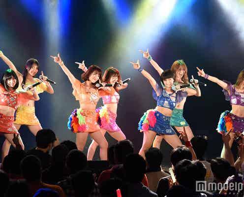 アプガ・LinQ・GEMら人気アイドル集結 怒涛の熱狂ライブで観客沸かす