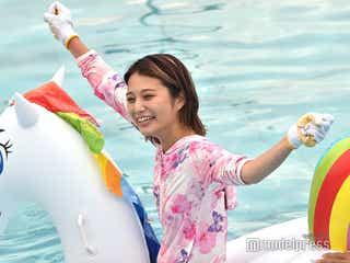 """ほのばび、鈴木奈々に続く""""次世代バラエティー女王""""候補に 「ひらがなモデルだらけの水泳大会」体当たりで注目集める<本人コメント>"""