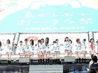 NMB48「第2のホーム」沖縄でライブ披露 太陽に負けぬ熱いパフォーマンスで観客沸かす
