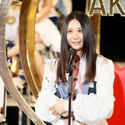 SKE48古畑奈和、悲願の初選抜 満面の笑みで渾身の叫び「最高に気持ちいです」<第9回AKB48選抜総選挙>