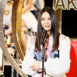 モデルプレス - SKE48古畑奈和、悲願の初選抜 満面の笑みで渾身の叫び「最高に気持ちいです」<第9回AKB48選抜総選挙>