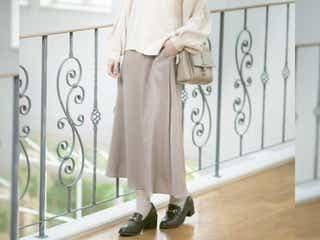 【しまむら新作】全部2000円以下!春まで使える高見えスカート