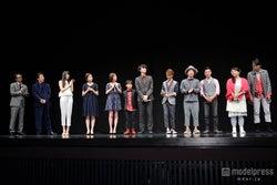 映画「想いのこし」完成披露舞台挨拶