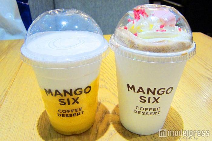 韓国発「カフェ・マンゴーシックス」日本初上陸  マンゴー中心のメニューが贅沢/画像提供:マンゴーシックスジャパン