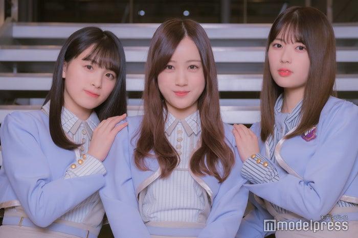 大園桃子、星野みなみ、岩本蓮加(C)モデルプレス