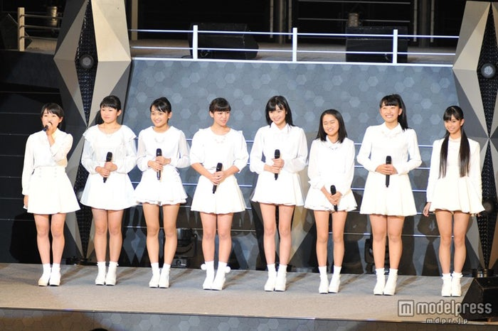 ハロプロから8人組新ユニット誕生 初々しいパフォーマンス披露【モデルプレス】