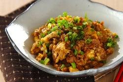 5分で完成「豚ひき肉の卵炒め」 丼ぶりやお弁当にもぴったり!