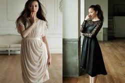 香里奈が魅せる!冬の華麗なドレス