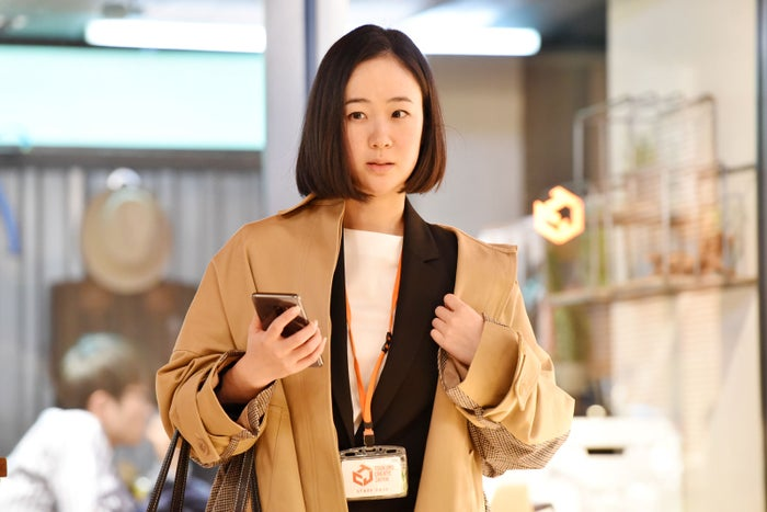 黒木華/「獣になれない私たち」第9話より(C)日本テレビ