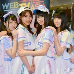 """モデルプレス - AKB48チーム8、選抜総選挙で台風の目になるか!?""""次世代""""メンバー達が全力アピール<モデルプレスインタビュー>"""