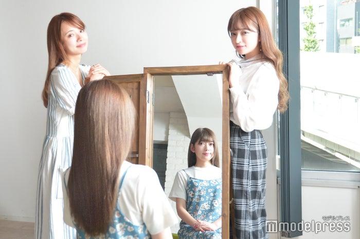 髪質(※1)が変わるだけで可愛さアップ(C)モデルプレス