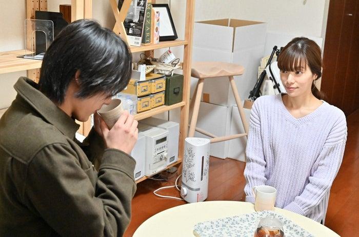 中川大志、桜井ユキ/「G線上のあなたと私」第8話より(C)TBS