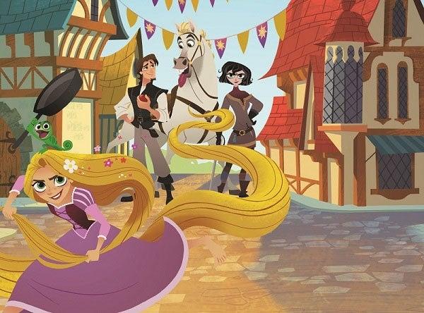 「ラプンツェル あたらしい冒険」(C)Disney