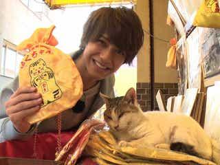 """King & Prince高橋海人、""""33億円稼ぐ猫""""と対面「スゴイ」"""