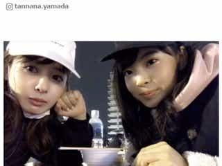 山田菜々&寿々姉妹の動画が可愛くて癒される「きょうだいです」にツッコミの声続々