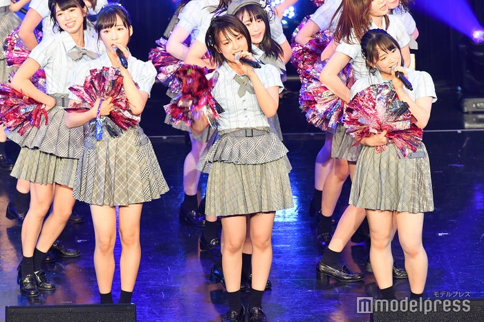 小栗有以、山田菜々美、倉野尾成美/AKB48チーム8「TOKYO IDOL FESTIVAL 2018」 (C)モデルプレス