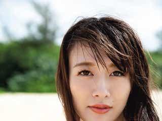 大島由香里アナ、グラビア挑戦の理由は?初写真集に向けたボディメイク・美の秘訣を明かす