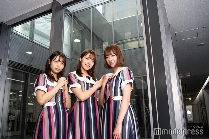 斉藤優里、衛藤美彩、和田まあや(C)モデルプレス
