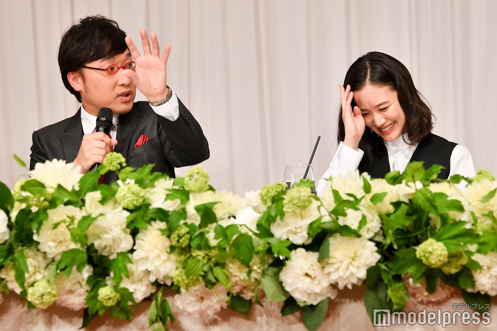 <南キャン山里亮太&蒼井優、結婚会見一問一答/後編>土手デートで愛を育んだ?初デートの様子を明かす