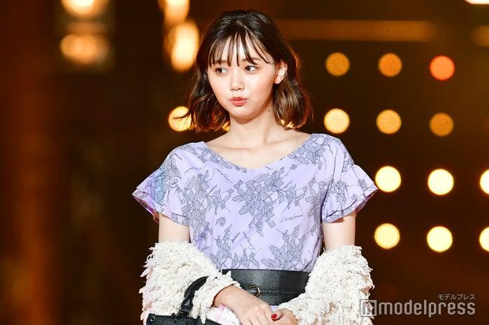 「東京ガールズコレクション 2018 AUTUMN/WINTER」に出演した江野沢愛美 (C)モデルプレス
