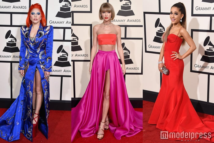 テイラー、ガガ、アリアナら、華やかドレスでグラミー賞レッドカーペットを彩る/photo:Getty Images
