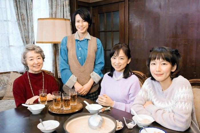 宮本信子、中谷美紀、永作博美、吉岡里帆(C)テレビ東京