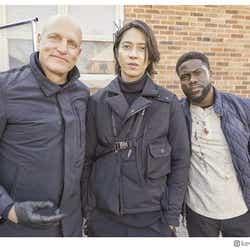モデルプレス - 山下智久、カナダでの映画撮影風景公開 米俳優ケヴィン・ハートらと共演