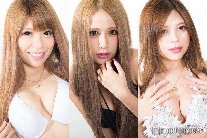 (左から)芹野莉奈、あいかりん、橘咲良(C)モデルプレス