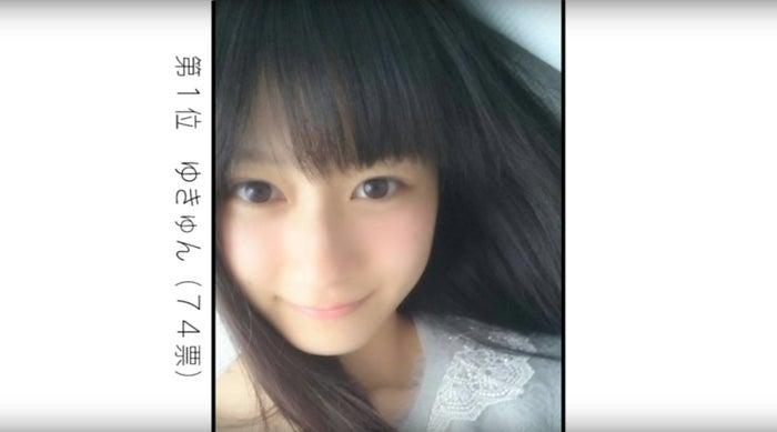 1位:ゆきゅん(74票/関西地方グランプリ)/画像提供:女子高生ミスコン