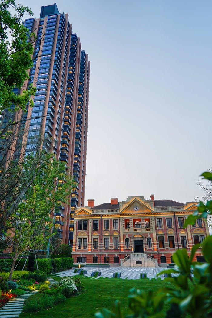 ブルガリ ホテル 上海外観/画像提供:ブルガリ ジャパン