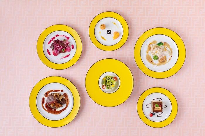 フェンディ カフェ スペシャル ディナー コース 12,000円/画像提供:フェンディ ジャパン