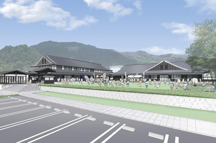 日本妖怪博物館完成イメージ図/画像提供:三次市