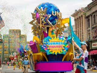 """USJ「ユニバーサル・サマー・パレード」開幕、ルートに""""目印""""でゲスト同士の距離に配慮"""