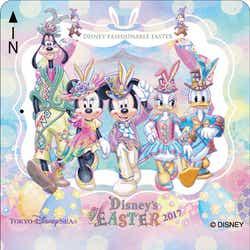 ディズニー・イースター2017 フリーきっぷ(東京ディズニーシーデザイン)/(C)Disney