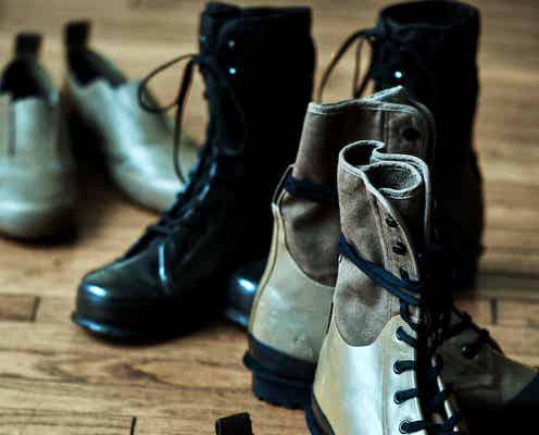 「ワイズ」×「スペルガ」 雨靴にもなるブーツとスリッポン