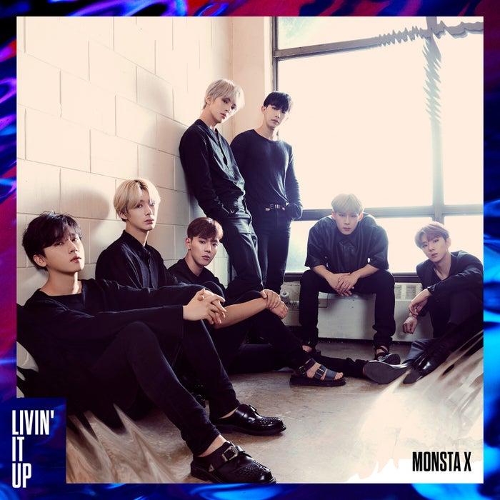 MONSTA X「LIVIN' IT UP」初回盤B (提供写真)