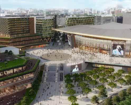 大阪・万博記念公園駅前の大規模開発、西日本最大級のアリーナ&商業・ホテル整備