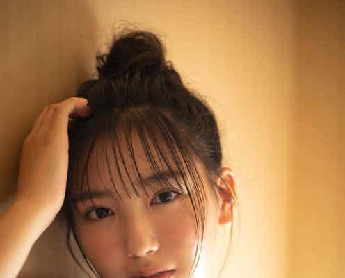 沢口愛華、温泉で色気ある浴衣姿披露