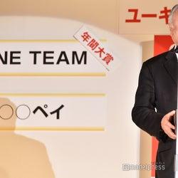 公益財団法人日本ラグビーフットボール協会会長・森重隆氏 (C)モデルプレス