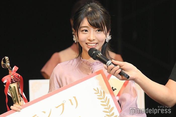 日本一の新入生を決めるミスコン「FRESH CAMPUS CONTEST 2018」グランプリ・永松 野々花 さん(C)モデルプレス
