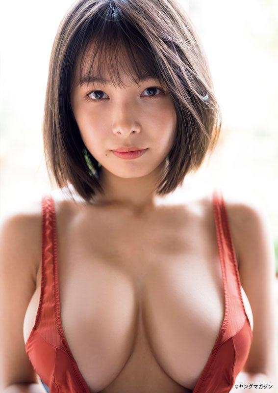 寺本莉緒(C)LUCKMAN /ヤングマガジン