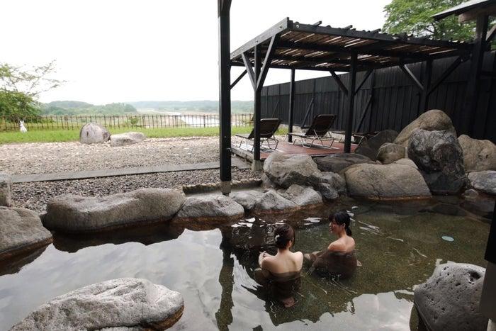 見晴らしの良い温泉で癒されて/小山市