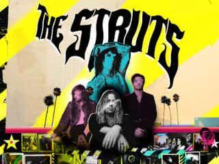 デフ・レパードのメンバーやロビー・ウィリアムスら参加、ザ・ストラッツの新アルバム発売