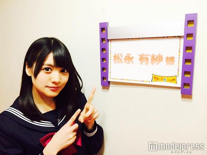 「ワイドナショー」「ワイドナB面」に出演した「Ranzuki」モデル松永有紗(画像提供:所属事務所)