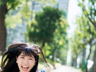 NMB48安田桃寧、フレッシュ全開 水着姿も披露