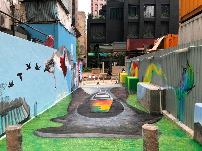 ストリートにこそ今旬な香港の姿が見受けられる(提供写真)