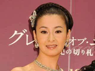 """檀れい、""""総額1億円超え""""で煌めく美貌を披露"""